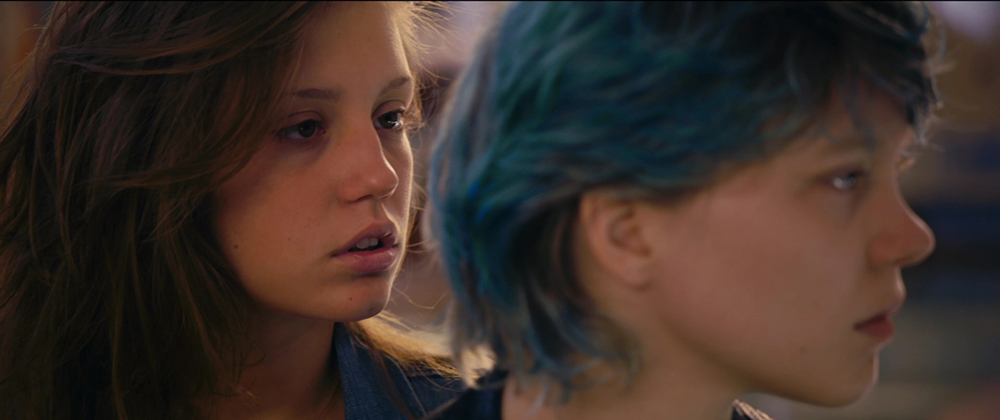 Blue is the warmest color nudity